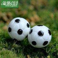 Wholesale mini microlandschaft cute craft E cozy garden landscape moss micro mini football basketball simulation jewelry cute little o