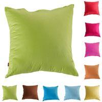 Wholesale Stylish High quality colors Cotton Pillow Office Sofa Cushion Backrest Pillow Cushion Quilt Dual Cover