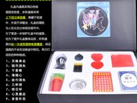 Wholesale Hot Magic Tricks magic props Magic box New magic box The new magic box with cd rom