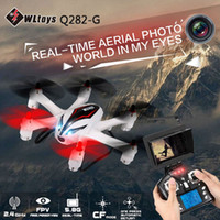 drone kit - Wltoys Q282 G Q282 J GHz FPV Drone With HD Camera G CH Axis Gyro RC Quadcopter RTF Remote Control Flying Helicopter Kit