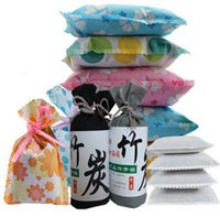 Wholesale Air Freshener Car Bamboo Charcoal Bamboo Charcoal Package Bag Car Air Deodorant dampproof