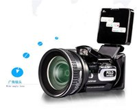 Wholesale New HD Digital DV Camcorder Video Camera HD9100 x Telephoto Lens Wide angle Lens LCD MP EMS