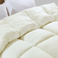 beige quilted bedspread - Luxury Beige Down Duvet Quilt Twin or Full or Queen or King Size Winter Comforter Quilted Bedspread