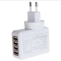 Cheap 2.1A 4USB Charger Best USB Wall Charger