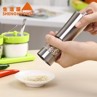 Wholesale New Arrive Stainless Steel Salt and Pepper Grinder Spice Sauce Mill Tool