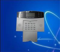 anti burglar alarm - Wireless GSM Intelligent Anti Burglar Alarm System Auto Dial for Home School Store Security Alarm system
