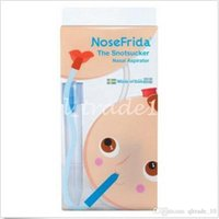 aspirator pump - 500pcs CCA2750 Nosefrida Aspirador Nasal Cleaner High Quality Suction Mucus Infant Tip Cleaner Heating Pump Silicone Infant Nasal Aspirator