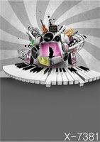 audio background music - 300cm cmPiano key audio music backgrounds for photo studiophotography backdrops