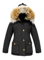 Mid Cut arctic coat - black ARCTIC BAY LA VAL PARKA short women down parka ARCTIC BAY Canada down coats qltrade_8