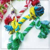Wholesale Dog Puppy Pet Chew Cotton Knot Toy Braided Bone Rope CM Small Medium Dog