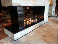 Wholesale 900 mm stainless steel alcohol fireplace