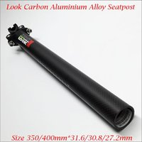 Wholesale Aluminum Alloy Head Carbon K Matte MTB Road Bicycle Seatpost Bike Parts Cycling Seat Post mm
