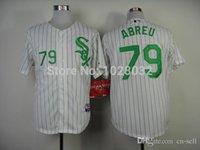 basball jersey - 2015 New TOP Quality Basball Jersey Jose Abreu Chicago White Sox Jerseys White Black Gray Cool Base Embroidery Logo S XL NEW