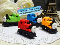 Wholesale Free ship pc Cute Thomas train modeling eraser toy erasers Fancy rubber erasers order lt no tracking