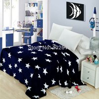 Wholesale Coral fleece blanket Blanket on the bed Size M Multicolor Printed blanket Warm Soft Bedding sheet