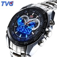 Wholesale Hot TVG Seals elite elite Thesealelite warriors Men s Sport Watch LED Analog Dive Watch for Men Dual Movements Waterproof Chinabestmall