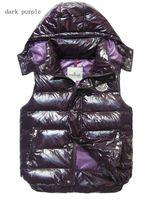 Wholesale Fall men women down vests jacket