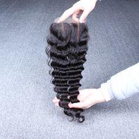 Cheap Mongolian hair lace top closure Best Silk Base  silk base closure
