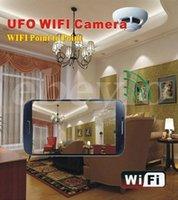 wireless network dvr - P2P Wireless IP Network Camera UFO Wifi Cameras Smoke Detector DVR Digital Video Recorder Cam Security System