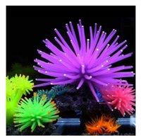 Wholesale Silicone Aquarium Fish Tank Artificial Coral Plant Underwater Ornament Decor