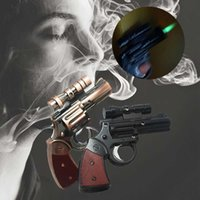 best lighters windproof - Unique Cool Gun Pistol Jet Torch Cigar Cigarette Gas Lighter With Laser Sight best cigar lighter refillable lighter