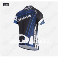 Wholesale Cool ORBEA team blue cycling jersey cycling wear cycling clothing Cycling Jersey Bib Shorts ORBEA D