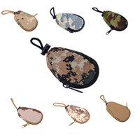 Wholesale Camouflage Design Money Car Key Wallets Tactical Portable Mini Bag Pouch Military Purse Bag Pocket Chains Case Holder YH0041