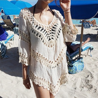 Wholesale Korea relaxed charm breathable comfort sweater beach sunscreen shirt large spot