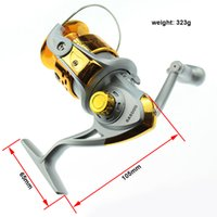 Wholesale SA Series Rocker Plastic Left Right Interchangeable BB Ball Bearings Fishing Reel Collapsible Handle Fishing Spinning Reels
