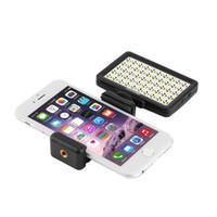 Wholesale 1pc Mini LED Video Light Holder For Cellphone Pad for DSLR for Gopro