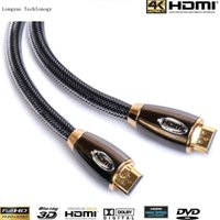 1080p led hdtv - Freeshipping GOLD plated high speed HDMI metal case cable FT m V PREMIUM Cable HDTV D P P Lead metre