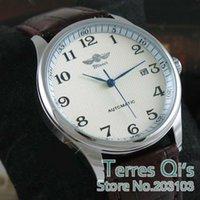 auto show calendar - Winner Classic Mens AUTO Mechanical Watch Day Show Leather Wristwatch Gift