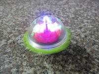 Wholesale 120pcs Colorful flashing Light up Spinning Top