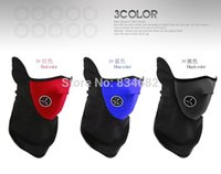 Wholesale colors Bike bicycle Motorcycle Helmet Ski Snow Snowboard Sport Neck Winter Warmer Face Mask New Black Red Blue