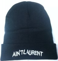 laurent - 2015 Newest D AIN T laurent Beanie Embroider Caps Fshion Knitted Winter Skull Cap Baseball Sport Hat