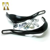 Wholesale Black colorATV Parts Plastic and Aluminum MM Handle Bar Hand Guards Guard For motorcycle KTM Handguards