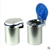 Wholesale 2015 Portable Car Ashtray Auto Travel Cigarette Cylinder Smokeless Ashtray Holder Cup Ash Tray Cup