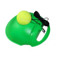 Wholesale FANGCAN Portable Pratice Single Play Rebound Tennis Ball Trainer Aids Equipment for Tennis Beginner Plastic Pedestal Ball