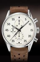 al por mayor péndulo de cuarzo-Al por mayor-libres de la etiqueta del envío 1887 de cuarzo reloj deportivo SpaceX hombres Péndulo Relojes de la correa de cuero relojes mecánicos automáticos