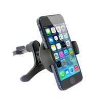 Wholesale Car Air Vent Universal Car Mount Holder Cradle for iPhone S C S Samsung Galaxy S5 S4 S3 S2 HTC One Nokia Lumia And More