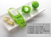 Wholesale Handy Garlic Grinder Convenient Stainless Steel Grater for Ginger and Garlic Convenient Multi functional Kitchen Supplies For Housewives
