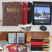 Wholesale 1509 Russian Language New Coin Album Home Decor Pages fit Units coin collection book color Home Garden