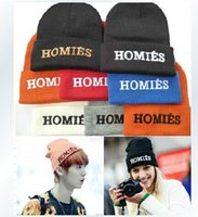 homies - Fashion Hat Brand Beanie Hip hop Men and Women Winter Cap Homies OATW CDC Skullies Kintted Casual toca chapeu feminine Hats