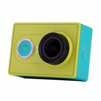 Wholesale Original Xiaoyi Sports Camera Xiaomi yi WiFi Action Mi Sport Camera MP FPS WIFI Ambarella Bluetooth Waterproof Smart Cam Standard