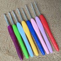 Wholesale Crochet Hooks Set Clover Amour Steel Pastel Ergonomic Easy Grip Bright Knitting Needle