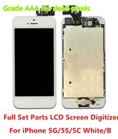 Cheap For Apple iPhone lcd with spare parts Best LCD Screen Panels IPS88854 iphone 5 lcd screen replacement
