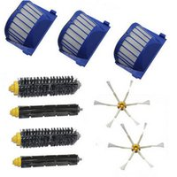 air vac - Aero Vac Filter Side Brush armed kit for iRobot Roomba Series Vacuum Cleaner Parts