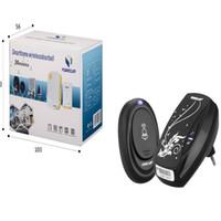 Wholesale 2016 EU Plug Tones Smart Home Door bell Receiver Waterproof Button Wireless doorbell T east