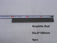 Wholesale dia mm Graphite rod carbon graphite rod mixing stirring rod crucible melting metals
