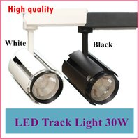 Wholesale LED Track Light W COB Rail Light Spotlight Lamp Replace W Halogen Lamp v v v v v Warm Cold White